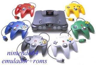 Emulador Nintendo 64 + 40 Roms