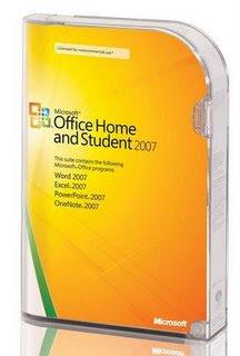 baixar capa Office Home and Student 2007   Português BR