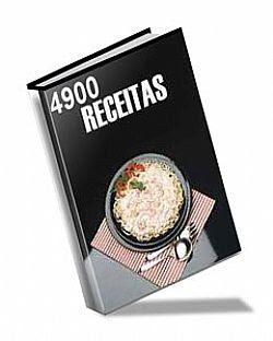 Livro 4.900 receitas de Culinária 4900+receitas