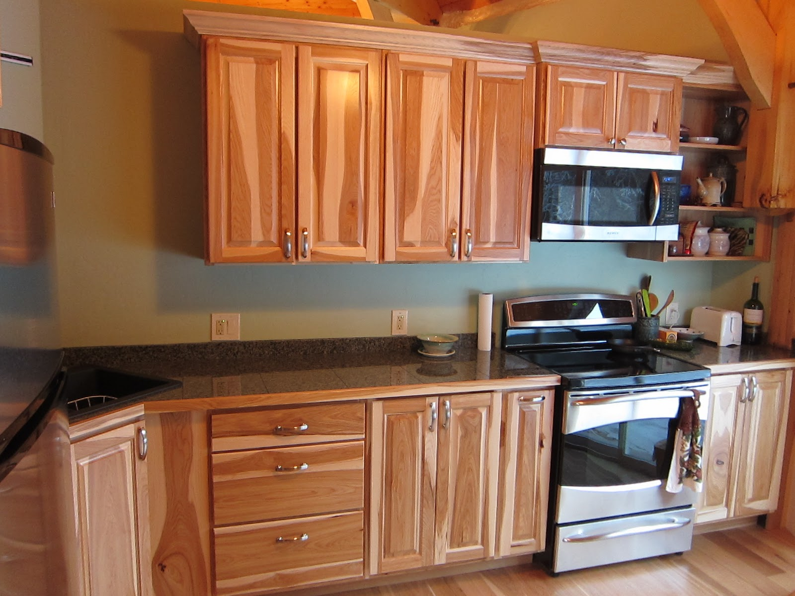 Stixs Woodworks Hickory Kitchen Cabinets