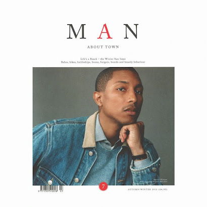 {RE}SOURCE JACKET ON PHARELL !! @ MAN About Town Autumn/Winter 2010
