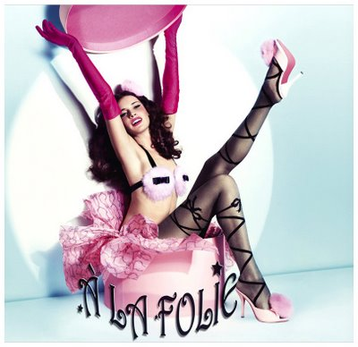 marie arden pink living lingerie paris style a la chantal thomass. Black Bedroom Furniture Sets. Home Design Ideas