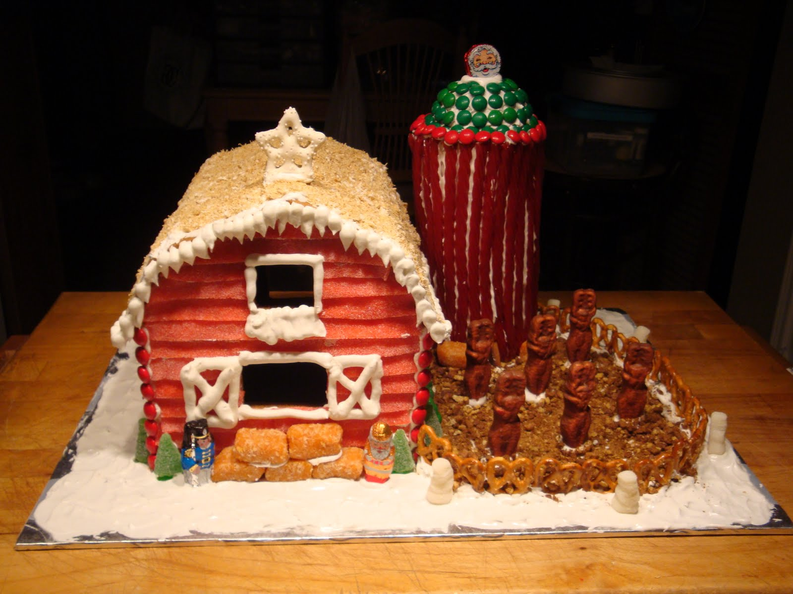Sweet Thangs Confections Gingerbread Farm House