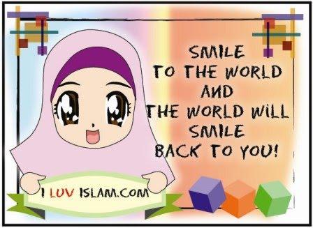 Senyum itu Manis...