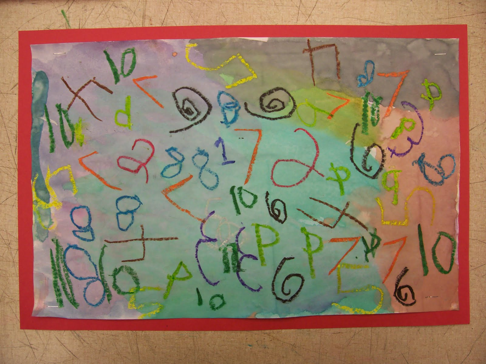 Mrs. Weber\'s Art Class: Numbers, numbers, numbers!