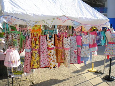 Retro revival for Display tents for craft fairs