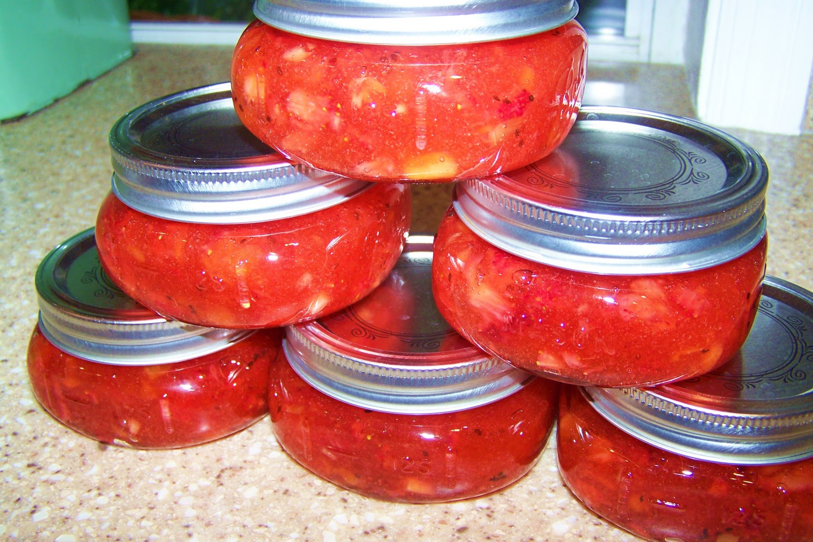 made strawberry/kiwi jam! I feel so Martha - ha! It was so easy and ...