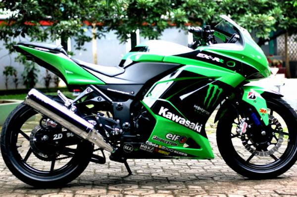 Image Modifikasi Ninja 250 Cc
