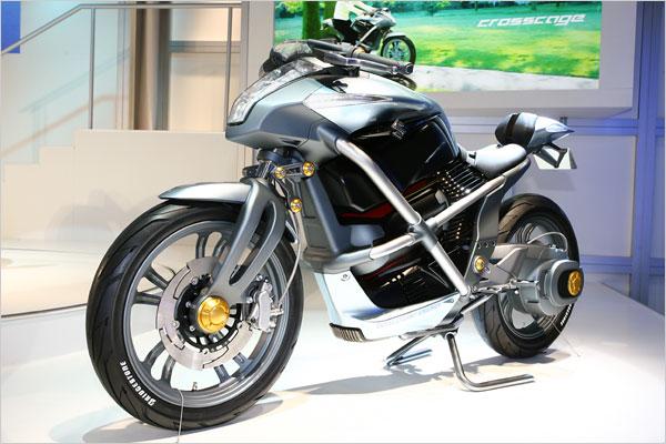 Wallpaper Suzuki Crosscage Hybrid Concept title=