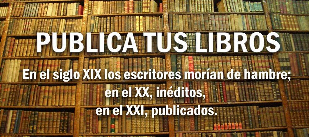 PUBLICAR LIBROS
