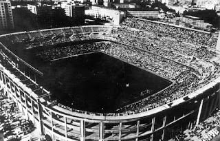 Santiago Bernabeu Stadium 1954