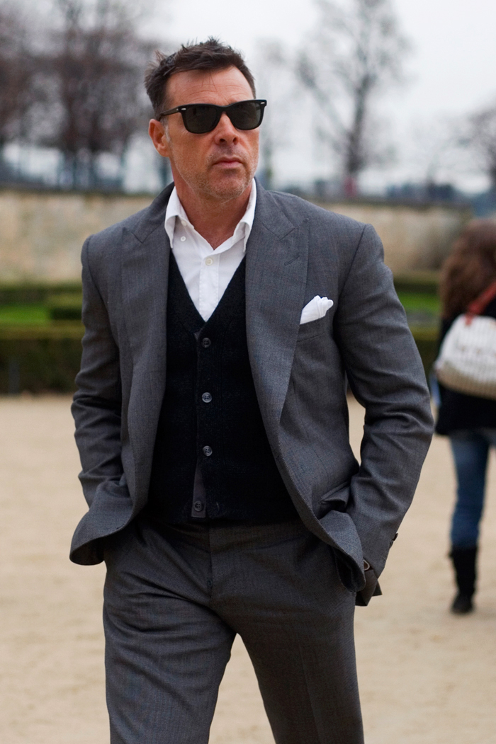 The Sartorialist stylist George Cortina