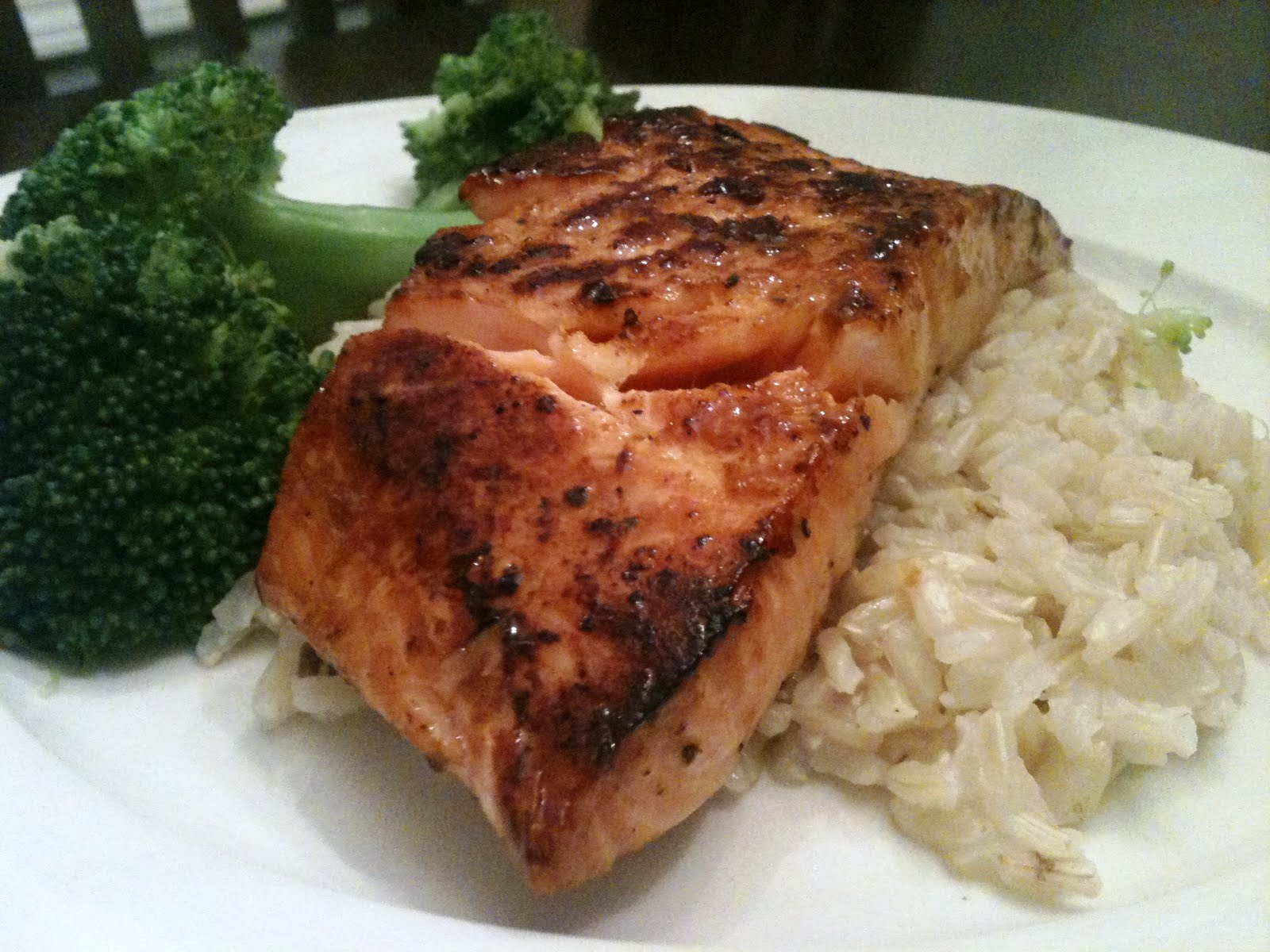 carlyklock: Soy-Ginger Glazed Salmon