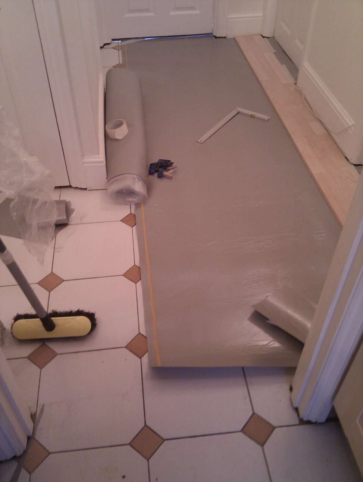 Tom flooring ealing laminate wood flooring kitchen for R f bathrooms and kitchens