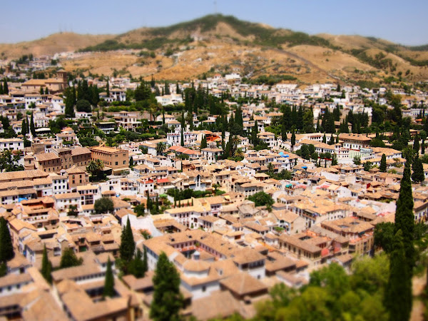 Granada in Diorama