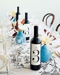 Exclusive Wedding Table Numbers