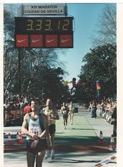 Mi primer Maraton Sevilla 1998