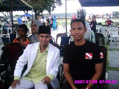 Bersama saudara Suhaimi Kumpulan Hijjaz
