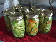 Green Tomato Pickles.