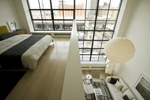 Through the french eye of design mezzanines - Maison avec vide sur salon ...