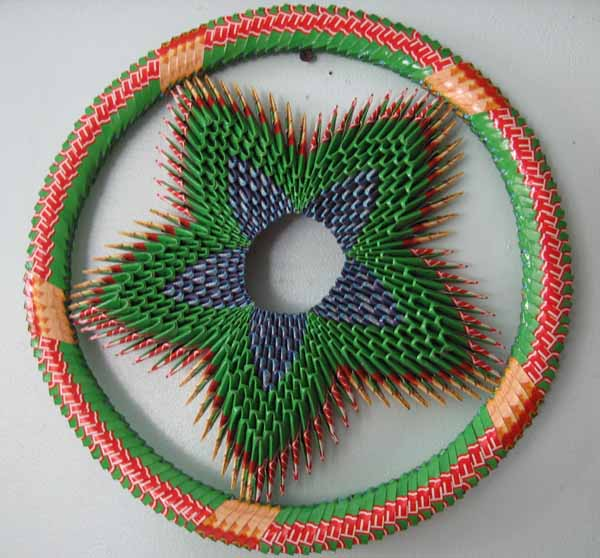 Through The French Eye Of Design The Reuse Recycle Wreaths