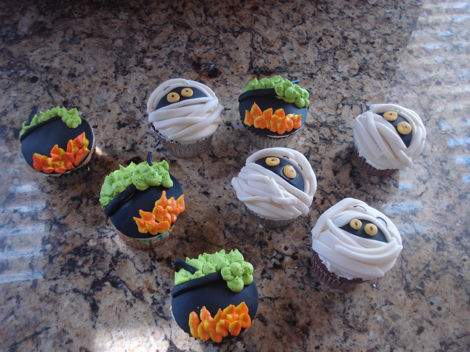 SoCalSweets: Halloween Cupcakes and Homemade Doughnuts