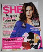 MY BLOG MENTIONED IN SHE MAGAZINE, OCTOBR 2010!