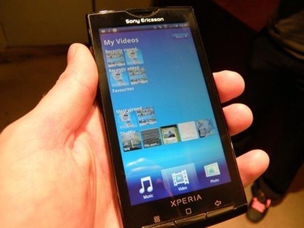 sony ericsson xperia x10. Sony Ericsson Xperia X10