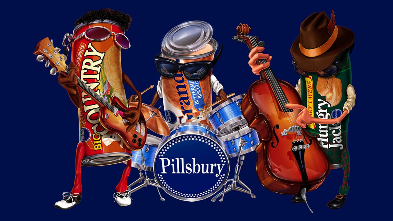 Funny music band