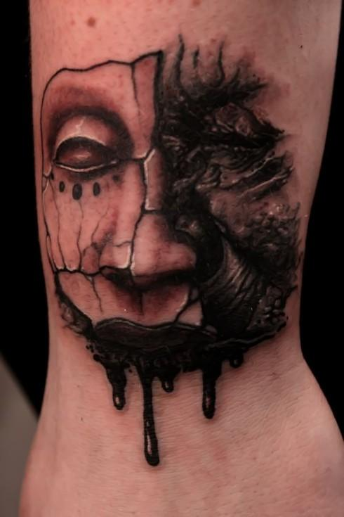 Scary Tattoos