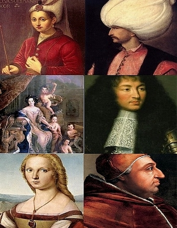 Sultan Suleyman and His Women