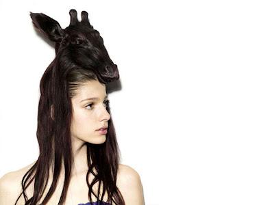 Bizarre animal hair hats