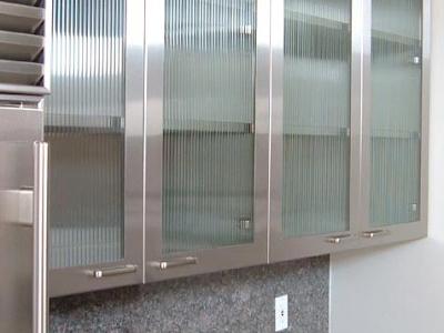 Design Decorate Designer Kitchens Glass Front Cabinets