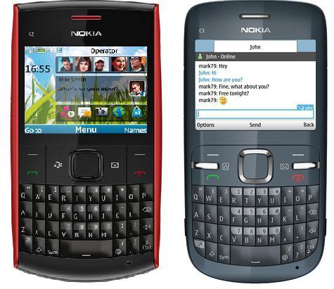 imagens para celular nokia x2-01 - Celular Nokia X2 01 Symbian 0,3 MP Zoom