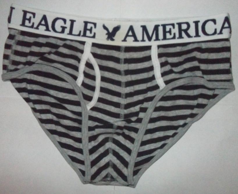 American Eagle Mens Underwear ~ Leather Sandals