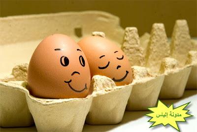 الرسم على البيض