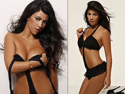 Stars In The World Kourtney Kardashian Em Ensaio Sensual