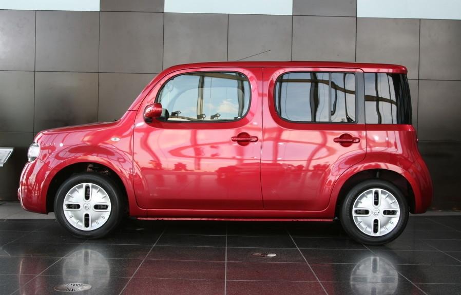 日本自動車デザインコーナー 「Japanese Car Design Corner」: Nissan Cube ...