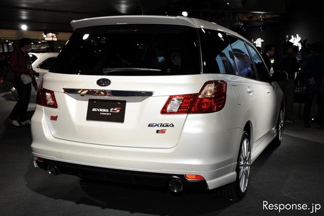 Subaru Exiga tS concept at 2011 Tokyo Auto Salon