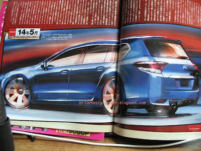 2014 Subaru Legacy Design