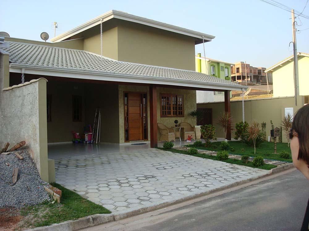 Casa em itatiba o condominio for Frentes de viviendas