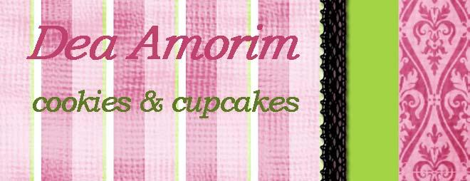 Dea Amorim- cookies e cupcakes