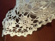 Bridal ivory crochet triangle shawl, unique,soft yarn,
