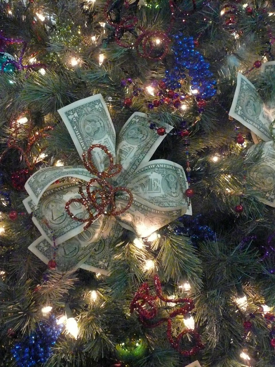Musing with marlyss creative christmas trees money tree
