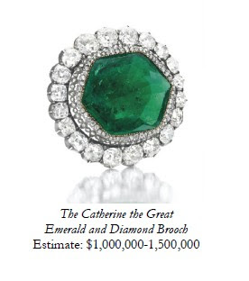 The Catherine the great emerald