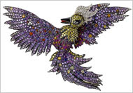 The Firebird Brooch