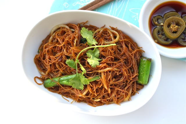 Fried Bee Hoon-Rice Vermicelli