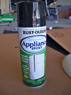 Rustoleum Countertop Paint Directions : fun part 5 spray paint i used rust oleum appliance epoxy black gloss
