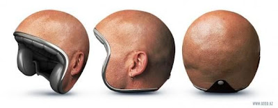 creative motorcycle helmet