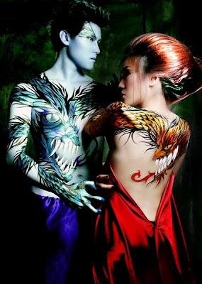 Style Body Painting